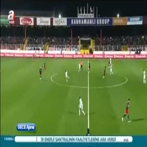 Mersin İ. Yurdu: 1- Fenerbahçe: 2 (Özet)