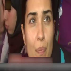 Tuba Büyüküstün Suriyelilerin kampını ziyaret etti