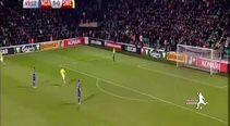 İbrahimovic'ten Moldova'ya ilginç gol