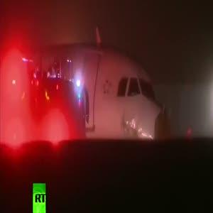 Air Canada uçağında büyük tehlike