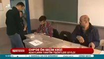 CHP'de ön seçim krizi