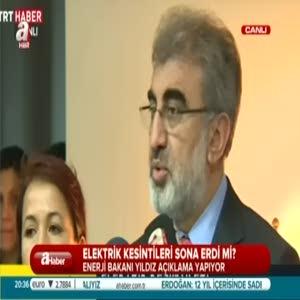 Elektrik kesintileri hakkında Enerji Bakanı açıklama yaptı