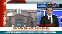 TSK'dan flaş Balyoz açıklaması