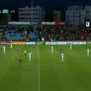 Lüksemburg 1-2 Türkiye maçı (ÖZET)