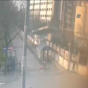 Emniyet Müdürlüğüne saldırısının yeni görüntüleri