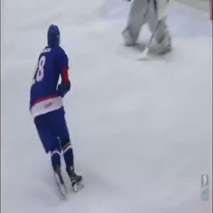 Buz üzerinde muhteşem hareket