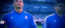 Ronaldo'nun Şampiyonlar Ligi marşını mırıldanması
