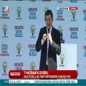 """Davutoğlu: """"Devlet olarak, Millet olarak buradayız!"""""""