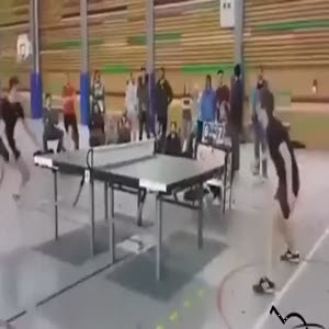 Masa futbolunda böyle bir kurtarış yok