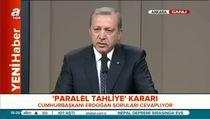 """Cumhurbaşkanı Erdoğan: """"HSYK çok geç kaldı"""""""