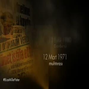 Başbakan Davutoğlu'ndan 27 Nisan E-Muhtırasının yıldönümünde anlamlı video