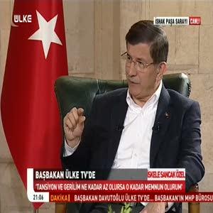 Davutoğlu: HDP'ye tavsiyem CHP'lileşmesinler