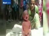Hindistan'ı ayağa kaldıran görüntüler