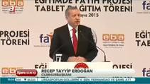 700 bin öğrenciye tablet dağıtıldı