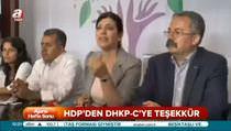 HDP DHKP-C bombacısına teşekkür etti
