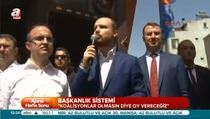 Bilal Erdoğan ''Ne iftira atarlarsa atsınlar ben yine vakıf faaliyetleri ile uğraşacağım''