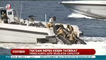 Deniz Kurdu 2015 Tatbikatı Muğla'da başladı