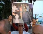 Ecdadın kabirlerinin ayaklar altına alınması protesto edildi