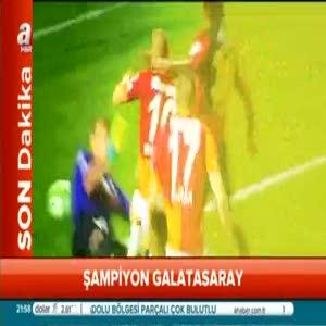 Galatasaray 20. şampiyonluğuna ulaştı!
