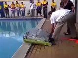 Şişme botu açınca çok şaşırdılar