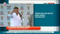 Başbakan Davutoğlu Şırnak'ta konuştu