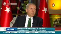 Cumhurbaşkanı canlı yayında soruları yanıtladı