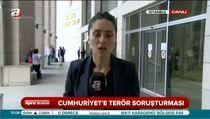 Cumhuriyet Gazetesi'ne terör soruşturması