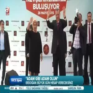 Erdoğan, Nevşehir ve Aksaray'da halka seslendi