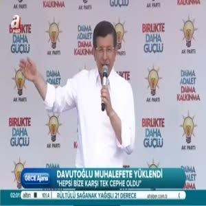 Başbakan, Siirt ve Tunceli ve Malatya'da partililere seslendi