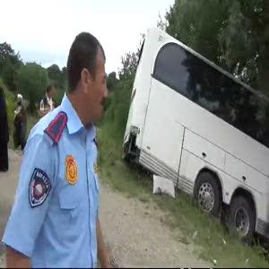 Trafik kazasında 40 kadın yaralandı