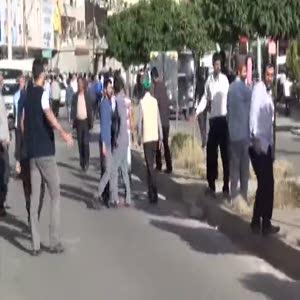Silvan'da Hüda-par'lılar İle HDP'liler arasında gerginlik