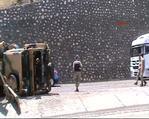 Askeri konvoy kaza yaptı 4 asker yaralandı