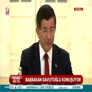 Başbakan Davutoğlu'ndan işçilere müjde