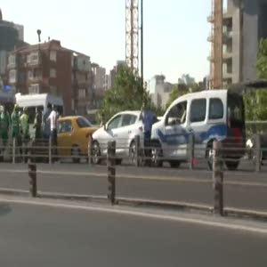 İstanbul Mecidiyeköy'de zincirleme kaza