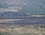 Türk tankını gören IŞİD militanları böyle kaçtı...