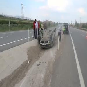 Afyonkarahisar'da trafik kazası: 5 yaralı