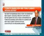 Barzani ''Türkiye iyi niyetli, PKK gurura kapıldı''
