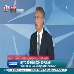 NATO'dan tam destek