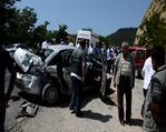 Tokat'ta zincirleme kaza: 10 yaralı