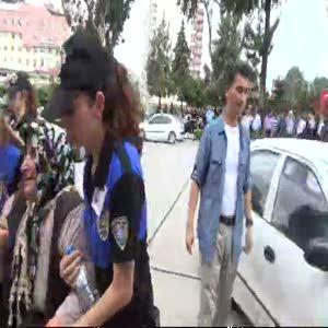 Şehit polisler için tören düzenlendi
