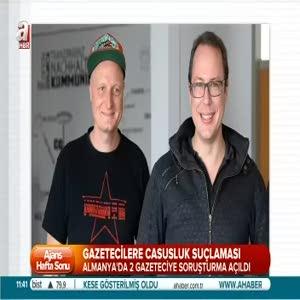 Almanya'da gazetecilere 'casusluk' suçlaması