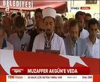 Muzaffer Akgün'e veda