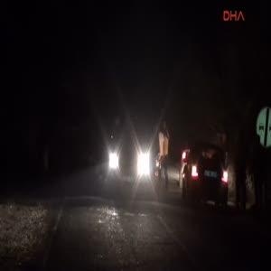 PKK, Nusaybin'de 1 TIR ile 1 kamyonu yaktı