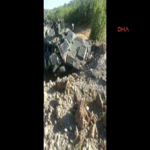 Silvan barajına roketatarlı saldırı