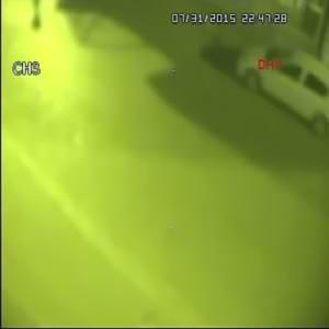 Emniyet Müdürlüğü'ne saldırı güvenlik kamerasında