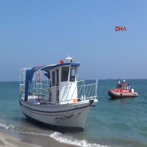 Suriyelileri 3 gün denizde gezdirip, İtalya diye Mersin'e bırakıp jet ski ile kaçtı