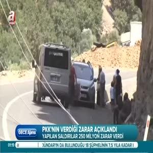 PKK enerjimizi vuruyor