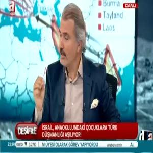 İsrail'de çocuklara Türk düşmanlığı eğitimi
