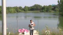 Havadan balık tuttu