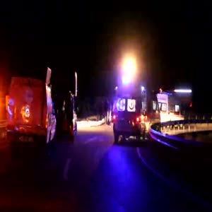 Yolcu otobüsü yoldan çıktı: 29 yaralı